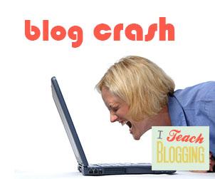 blog crash