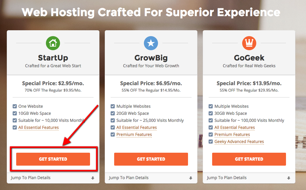 affordable hosting to build a blog