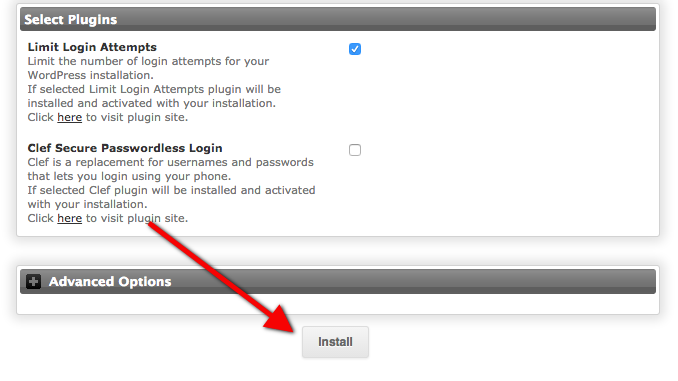 a tutorial on how to install WordPress