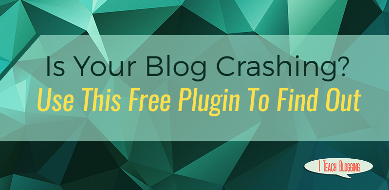 Is your blog crashing? Use uptime monitor to find out.