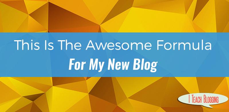 A Blog Post Formula