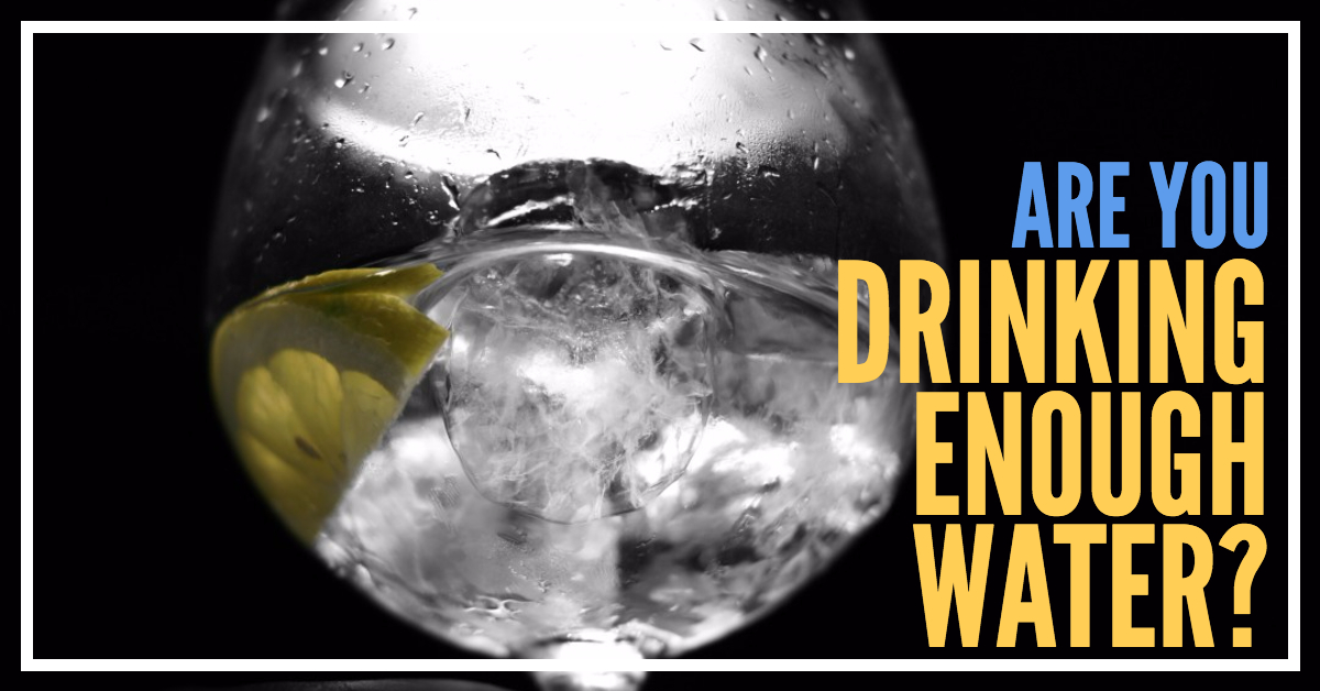 Entrepreneur Tip Of The Day-Are You Drinking Enough Water