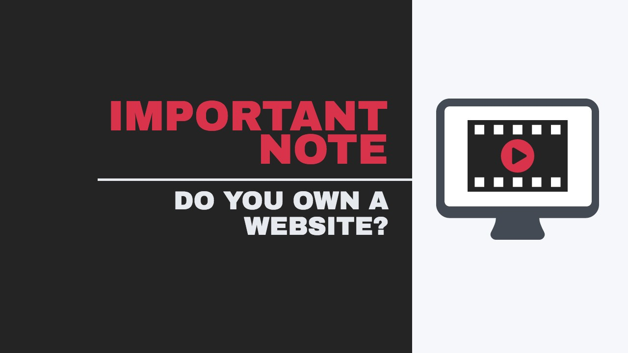 If you own a website you need to know this.